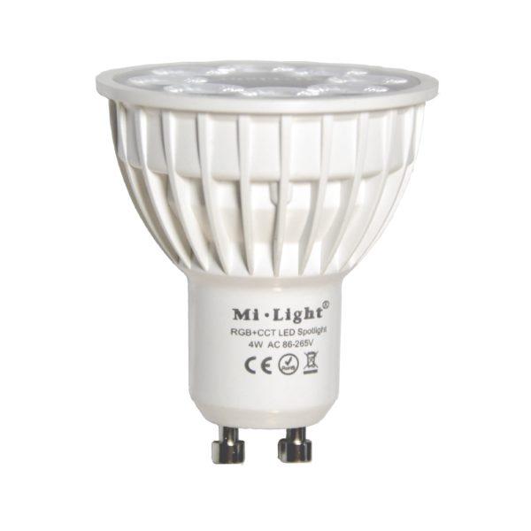 4W/GU10 RGB+CCT Bulb