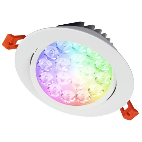 9W IP54 RGB+CCT Downlight Fut062