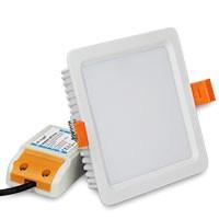 RGBW+CCT 9 WATTS square Quadrat LED Deckenleuchte, FUT064